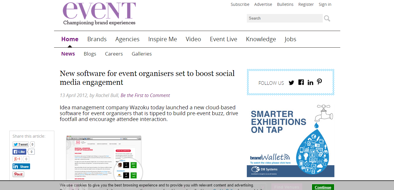 New software for event organisers set to boost social media engagement