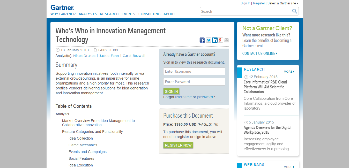Who s Who in Innovation Management Technology