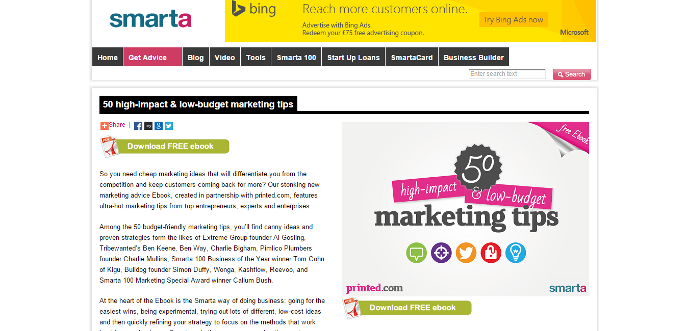 50 high impact   low budget marketing tips   Smarta