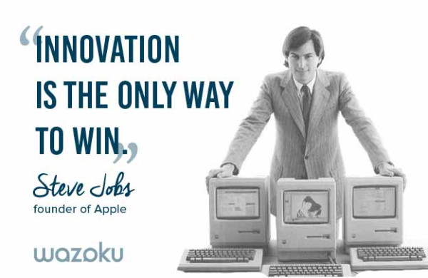 Innovation quote Steve Jobs