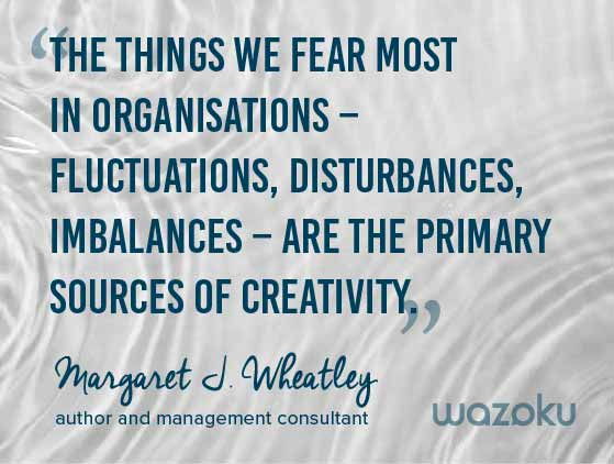 Innovation quote Margaret J Wheatley