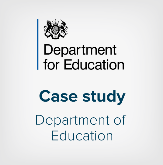 Department for Education Case study