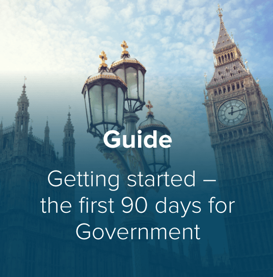 Getting Started - First 90 Days for Government