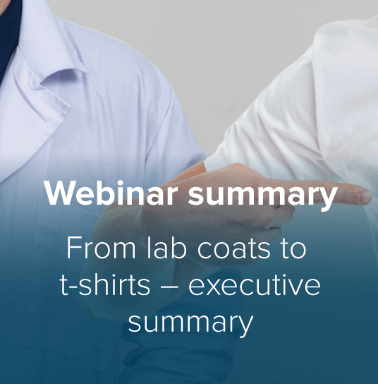 From Lab Coats to T-Shirts Thumbnail