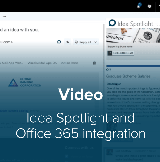 Office 365 Idea Spotlight Thumbnail