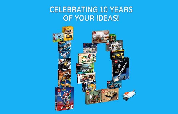 Lego - 10 years of Ideas