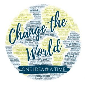 Change the world one idea at a time- Wazoku